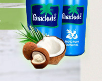 Parachute - Кокосовое масло для Волос - Дебесы
