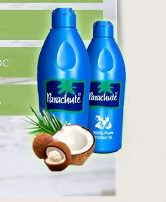 Parachute - Кокосовое масло для Волос - Байкалово