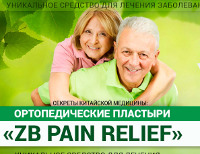 ZB Pain Relief - Ортопедические Пластыри - Шаблыкино